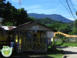 Pequeño hotel en Corozal Honduras