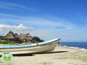 Hermosa playa de Corazal Honduras