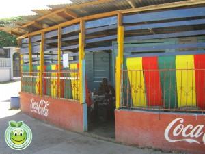 Pequeño restaurante en Corozal Honduras