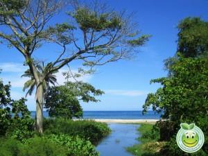 Hermosa vista del mar en  Corozal Honduras