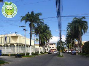 Boulevard 15 de Septiembre, La Ceiba Honduras. Oficinas del Banco Central.