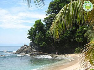 Playa Cocalito, Parque Nacional Punta Sal Tela Honduras Natural