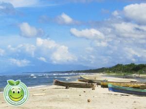 Playas limpias y refrescantes de Sambo Creek, Honduras