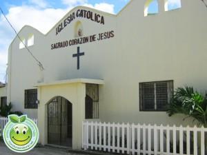 Iglesia Catolica Sagrado Corazon de Jesus Sambo Creek, Honduras