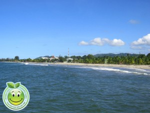 Hermosa playa de Tela Honduras