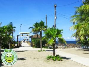 Entrada al muelle de Tela Honduras
