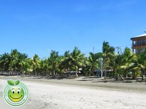 Playa municipal de Tela Honduras