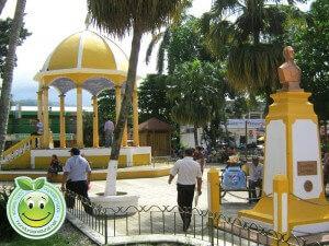 Parque central de Tela