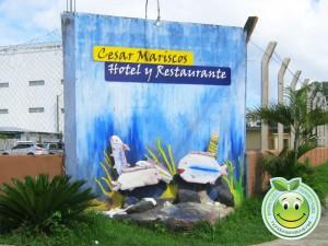 Hotel y Restaurante Cesar Mariscos Tela Honduras