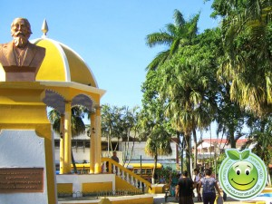 Parque central de Tela Honduras