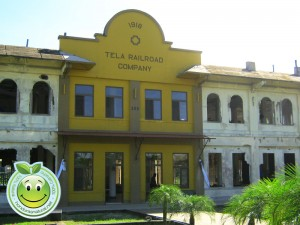 Edificio antiguo de Tela Railroad Company Honduras